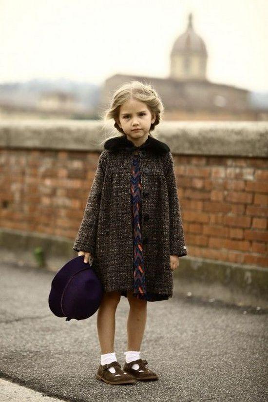 Пальто для маленькой леди