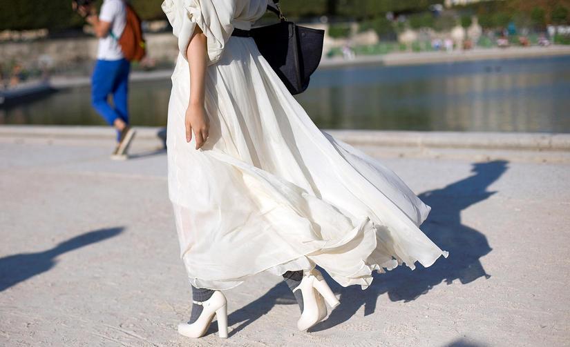 Униформа — длинное платье