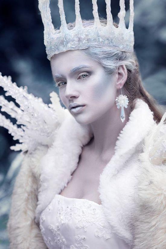 Фотосессия в стиле снежной королевы