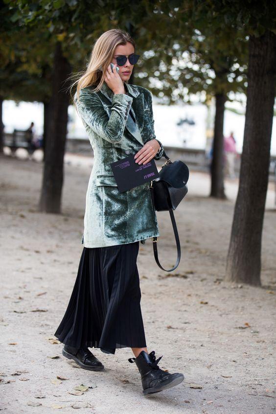Платье с пиджаком Street Style