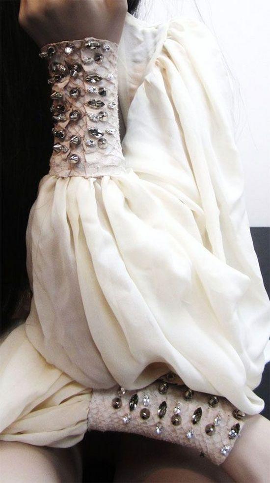 Декорированные рукава
