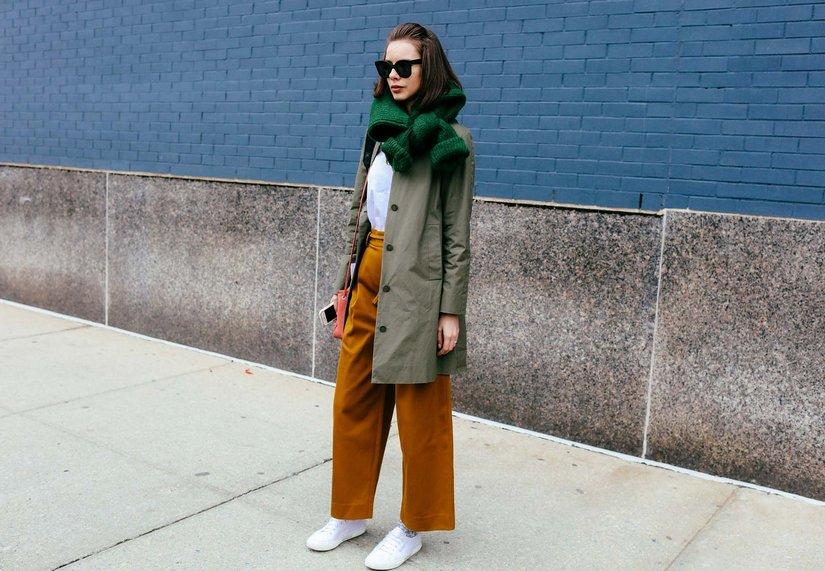 Широкие брюки — мощный тренд