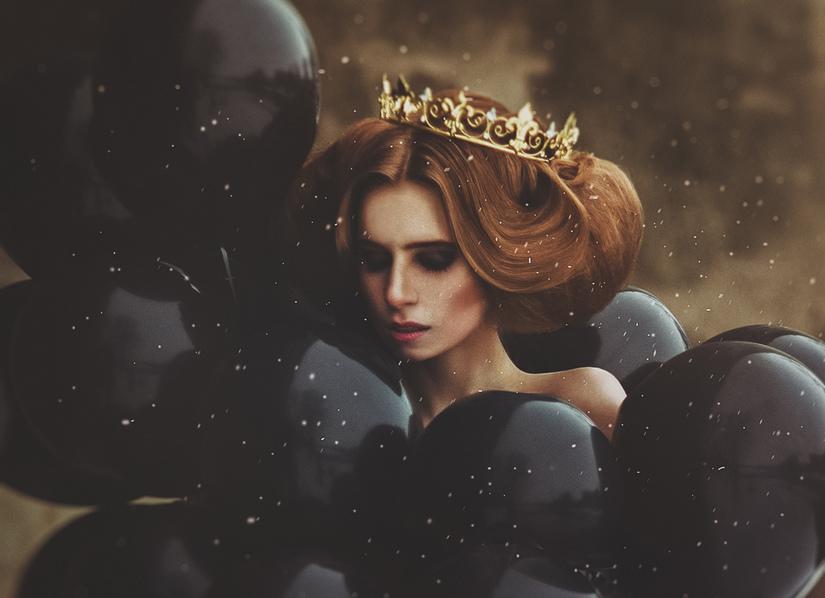 Фотосессия в стиле принцессы