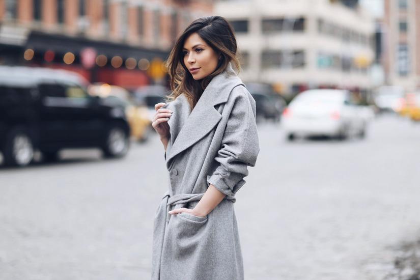 Образы с классическим с пальто