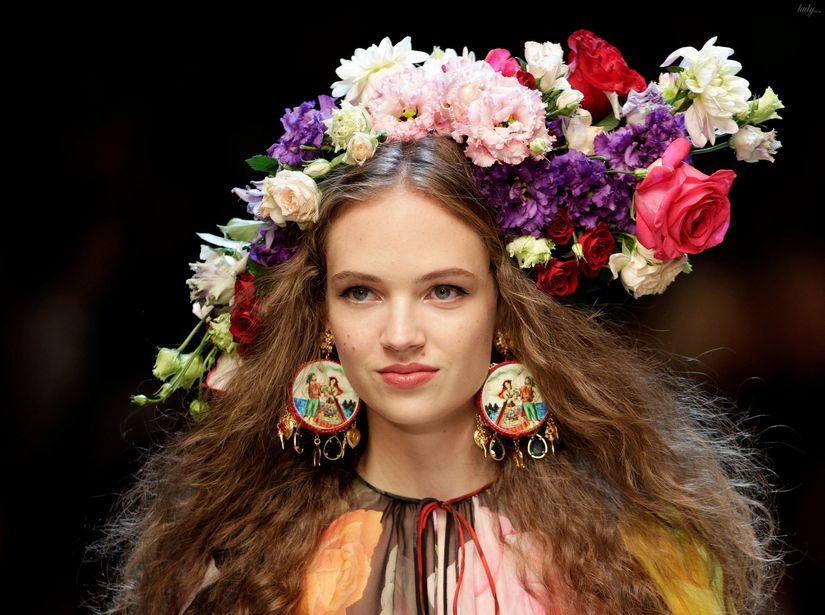 Венки из цветов — просто красиво