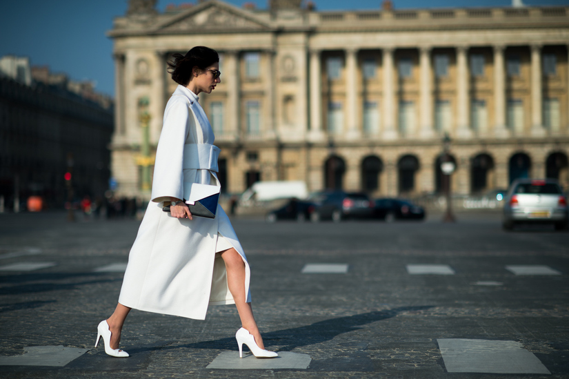 С чем носить белый низ?