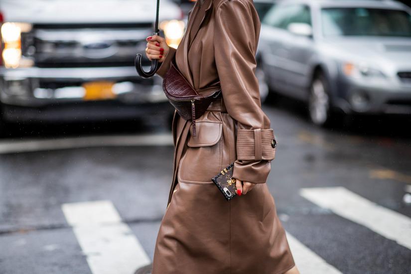Коричневый цвет в моде