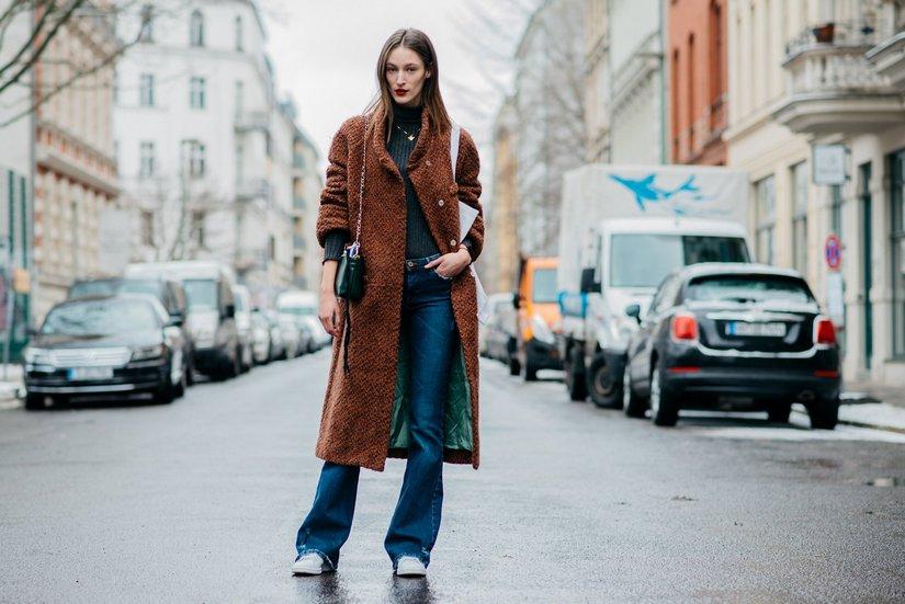 Уютное и стильное вязаное пальто