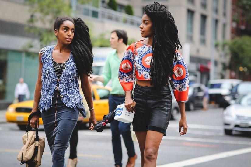 Африканский стиль в одежде