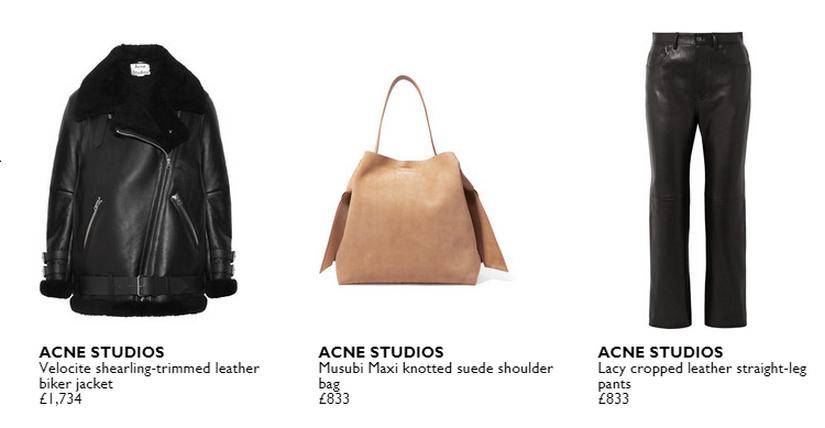бренд Acne Studios