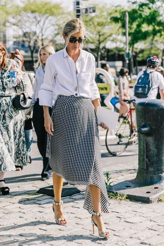 Ассиметричные юбки необычного покроя