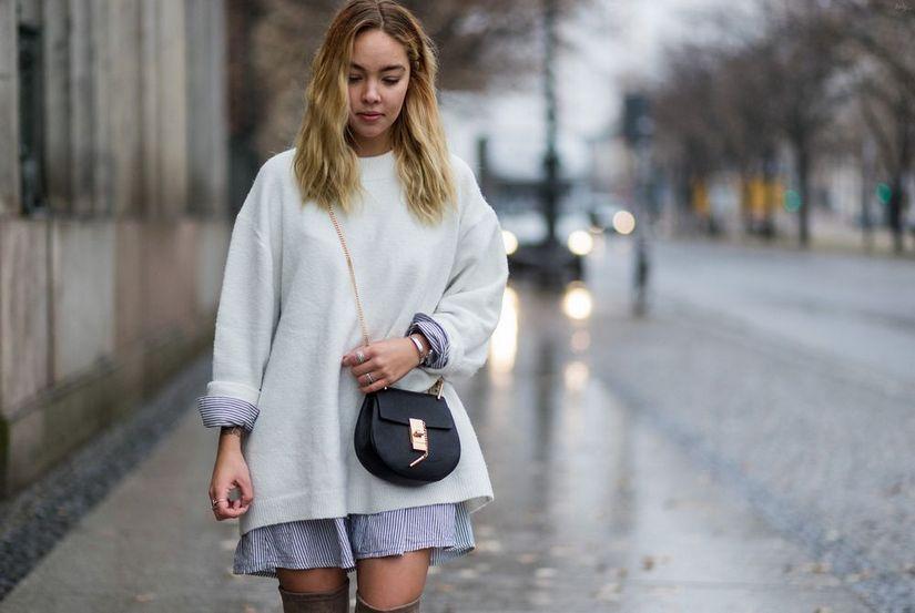 Платье вместо юбки