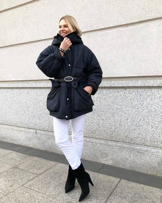 Anna Yakimenko down jacket