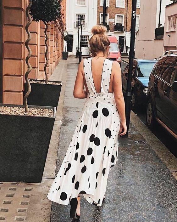Платье с миксом принтов