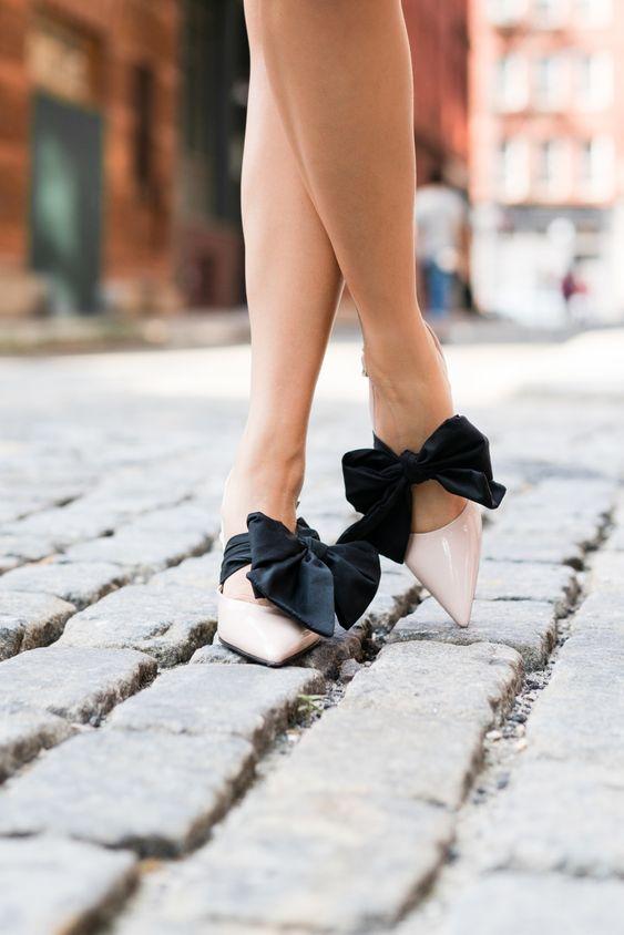 банты на обуви