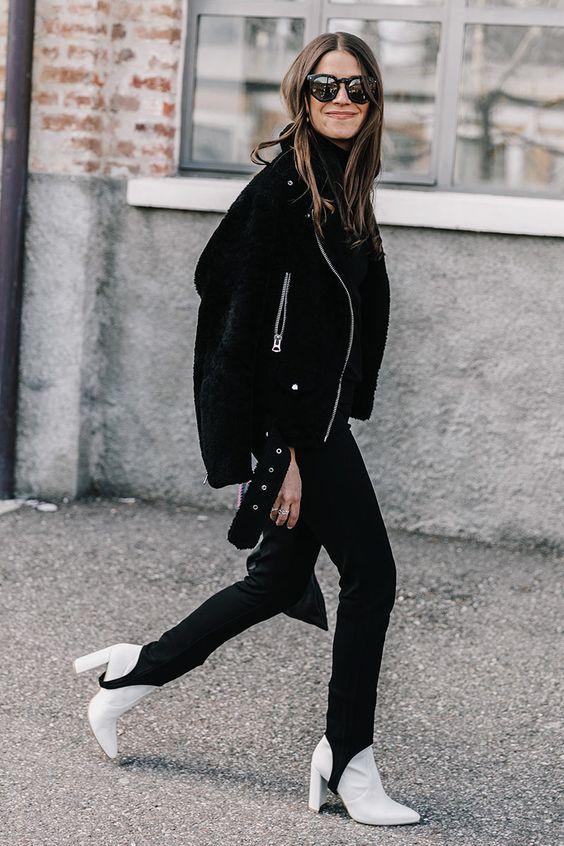 брюки со штрипками