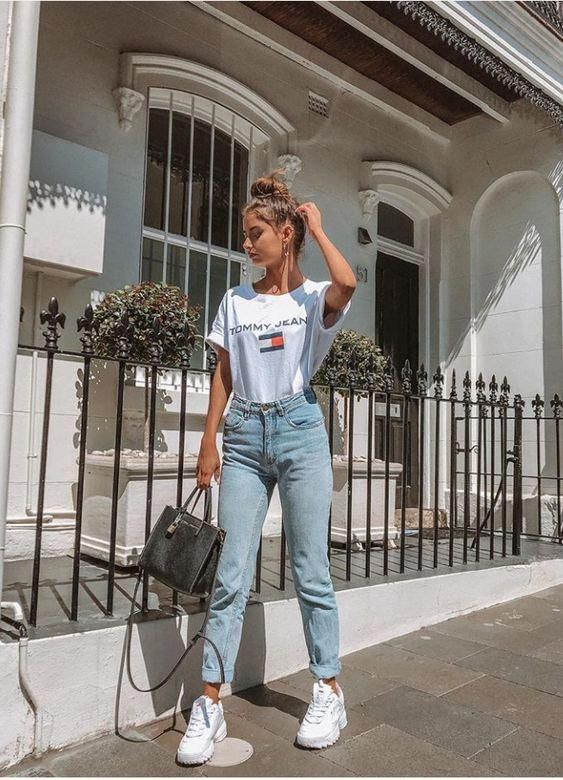 футболка белая стрит стайл