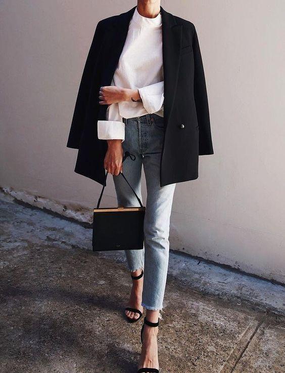 пиджак стрит стайл