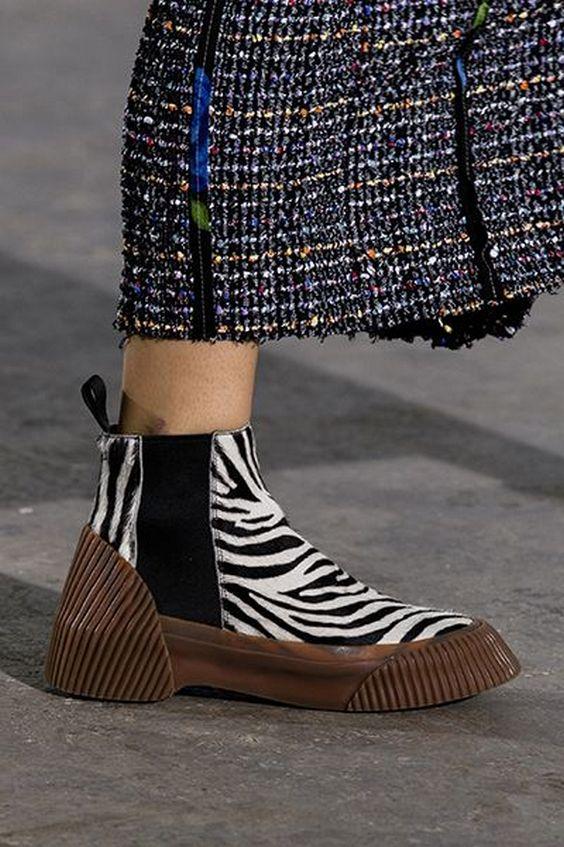 Обувь на грубой подошве
