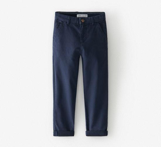 Базовый брюки чинос