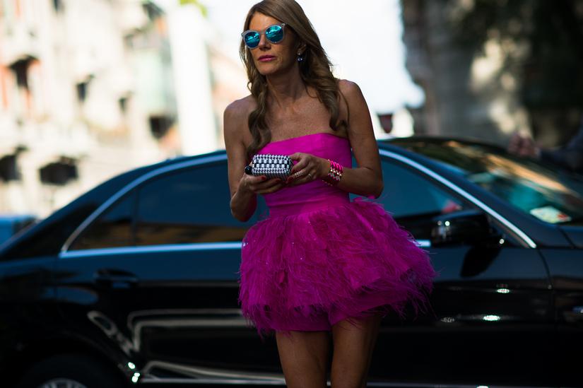 Шикарные платья Anna Dello Russo