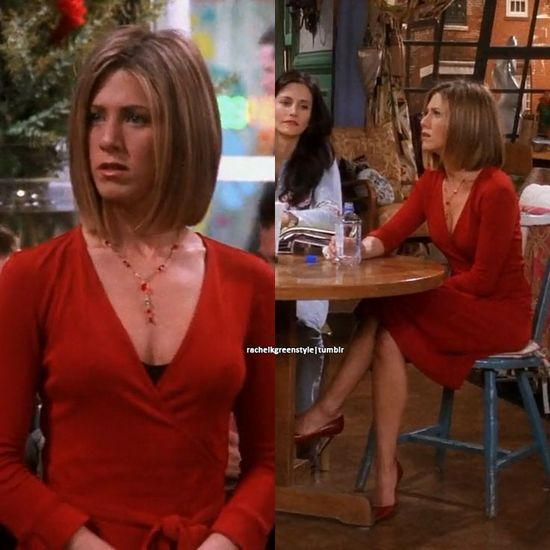 Красное платье Рейчел Грин